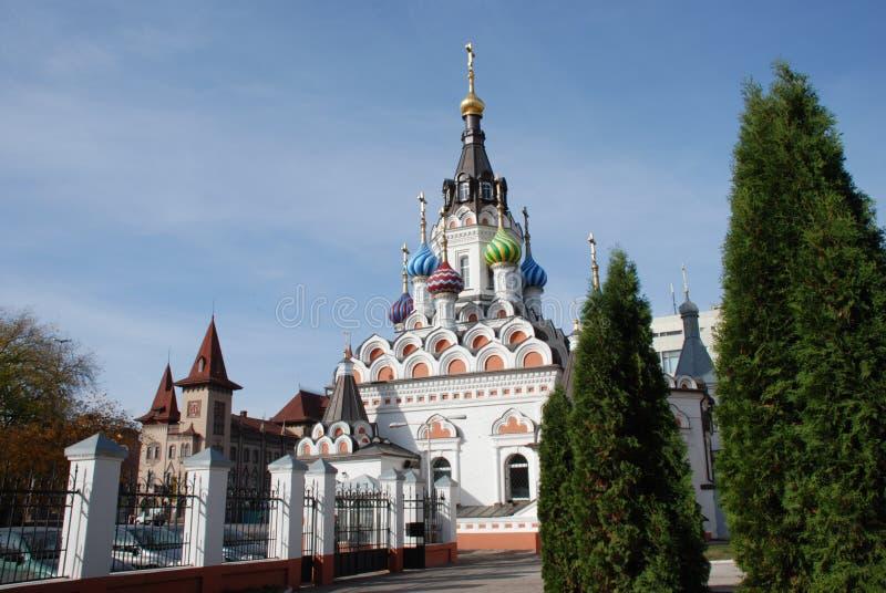 Templo em Saratov imagem de stock