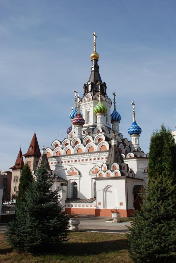 Templo em Saratov imagens de stock