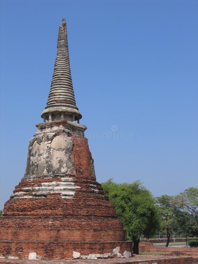 Templo em Tailândia foto de stock