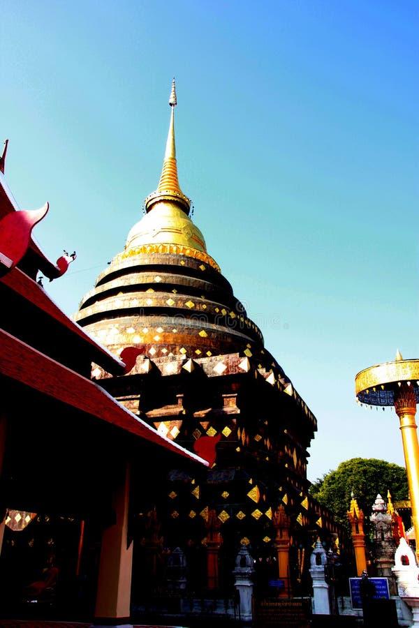 Templo em Tailândia imagem de stock