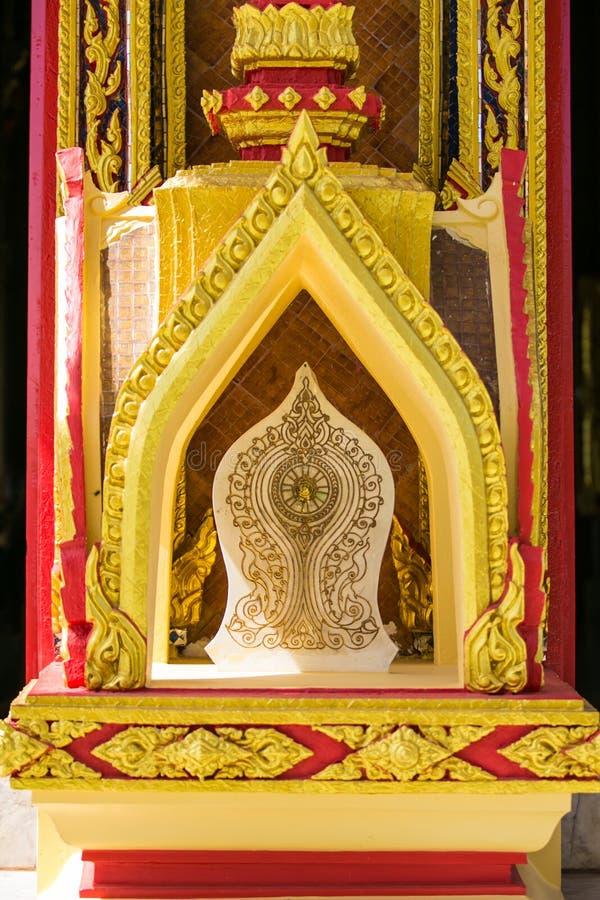 Templo em Tailândia em Kanchanaburi fotografia de stock
