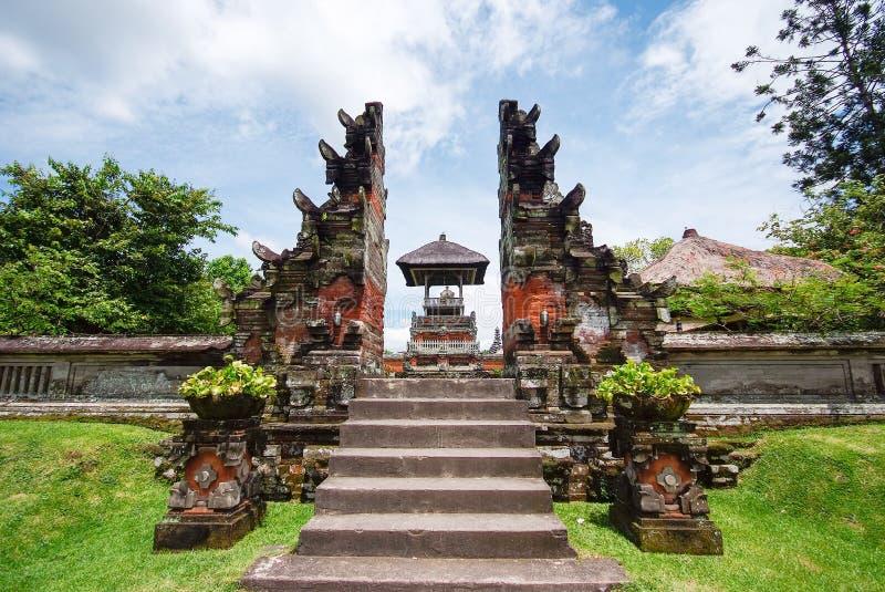 Templo en Bali, Indonesia de Pura Taman Ayun foto de archivo libre de regalías