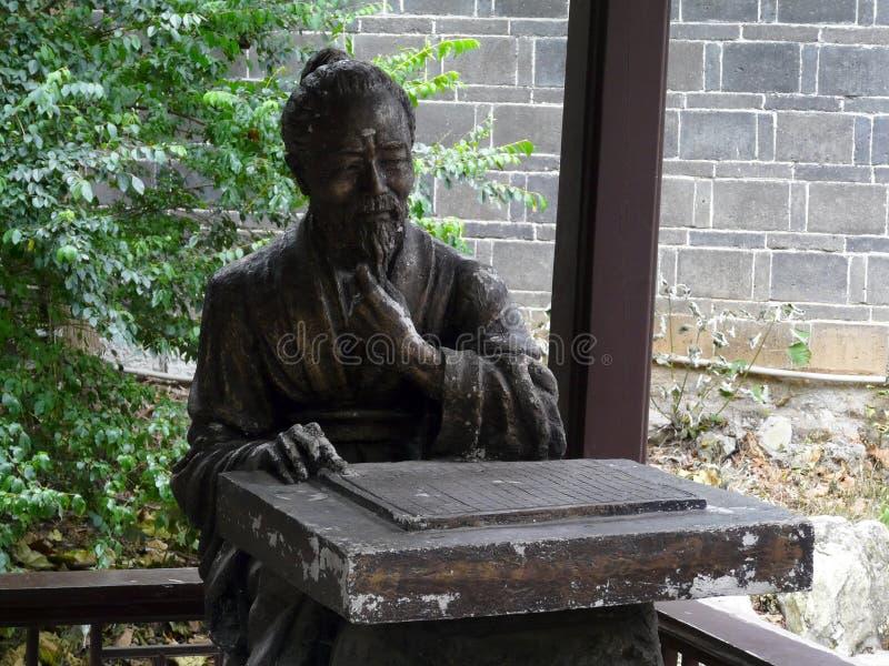 Templo en Chengdu imágenes de archivo libres de regalías