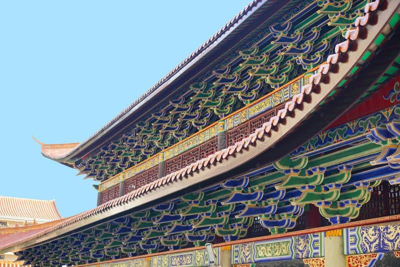 Templo en China meridional fotos de archivo