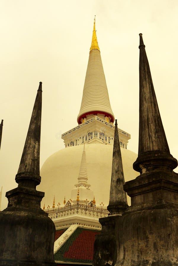 Templo en el sur de Tailandia fotos de archivo