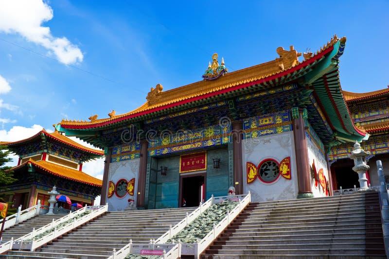 Templo en estilo chino fotografía de archivo libre de regalías