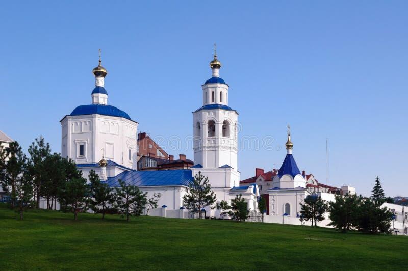 Templo en honor del gran mártir santo Paraskeva Friday, Kazán, Rusia imágenes de archivo libres de regalías