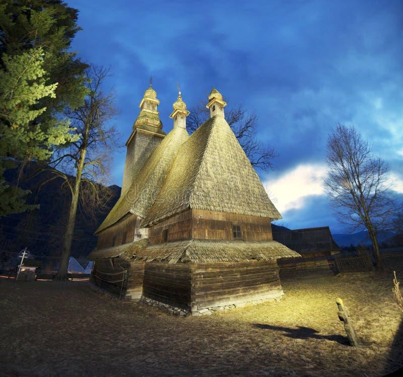 Templo en Kolochava cárpato imágenes de archivo libres de regalías