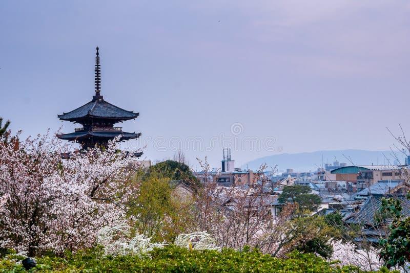 Templo en Kyoto foto de archivo