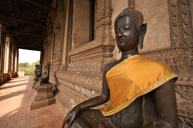 Templo en Laos fotos de archivo