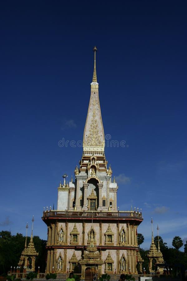 Templo en Phuket fotos de archivo