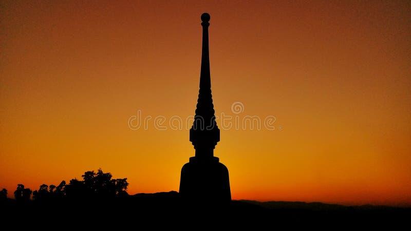 Templo en Tailandia fotografía de archivo