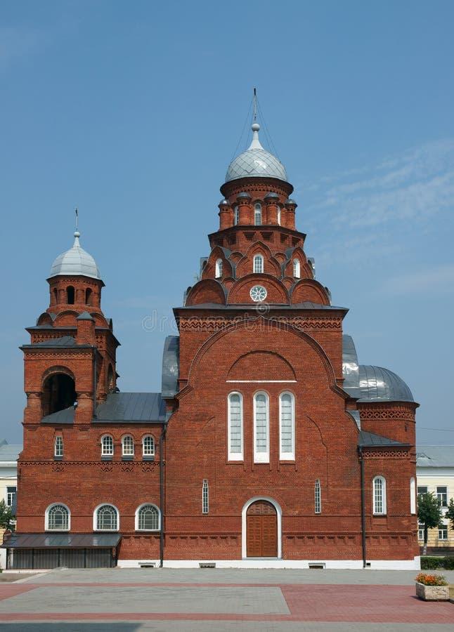 Templo en una ciudad Vladimir foto de archivo libre de regalías