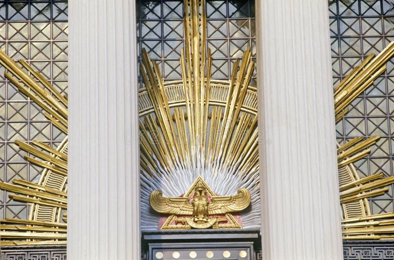 Templo escocês do rito, Washington, C.C. fotos de stock royalty free