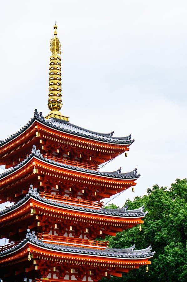 Templo Fukuoka de Tochoji imagens de stock