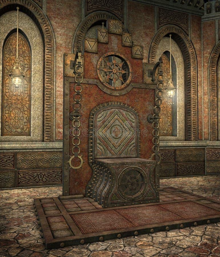 Templo gótico 12 ilustração royalty free