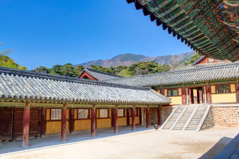 Templo Gyeongju de Bulguksa imagen de archivo