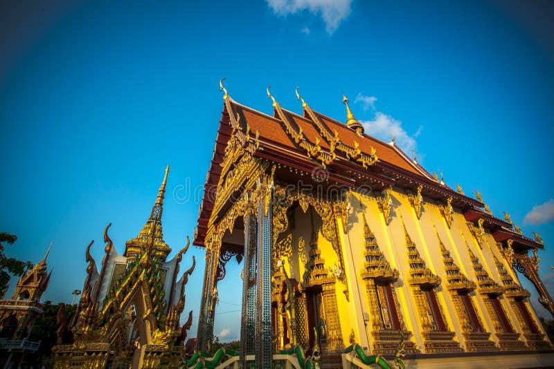 Templo hermoso isométrico en Tailandia en la KOH fotografía de archivo