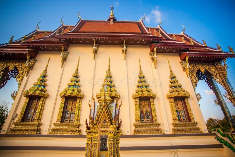Templo hermoso isométrico en Tailandia en la KOH fotografía de archivo libre de regalías