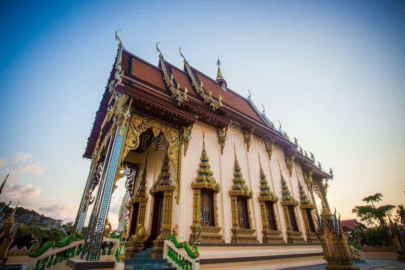 Templo hermoso isométrico en Tailandia en la KOH fotos de archivo libres de regalías