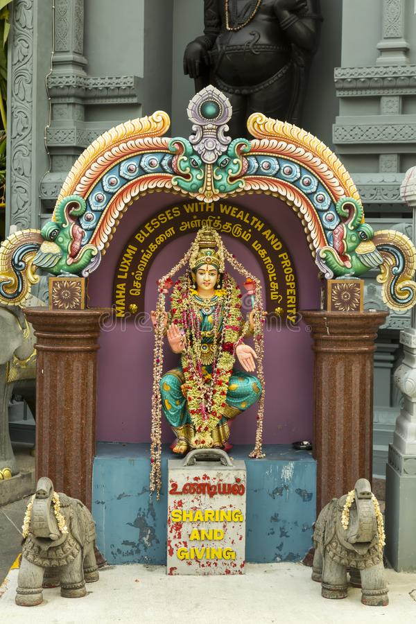 Templo hindú foto de archivo libre de regalías