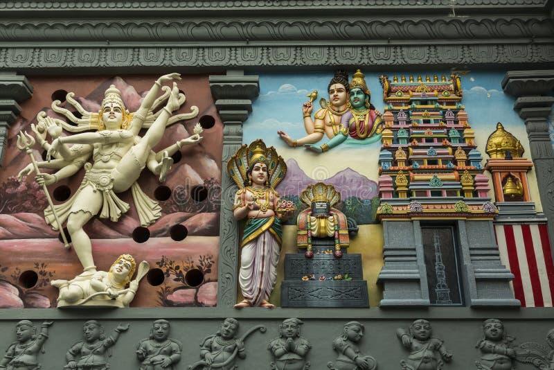 Templo hindú imágenes de archivo libres de regalías