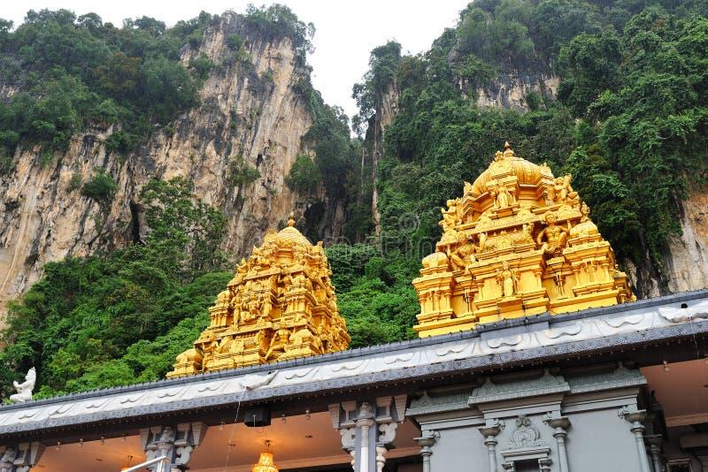 Templo hindú cerca de la cueva de Batu, Kuala Lumpur, Malasia foto de archivo libre de regalías