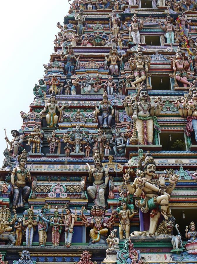 Templo hindú de Colombo fotografía de archivo libre de regalías