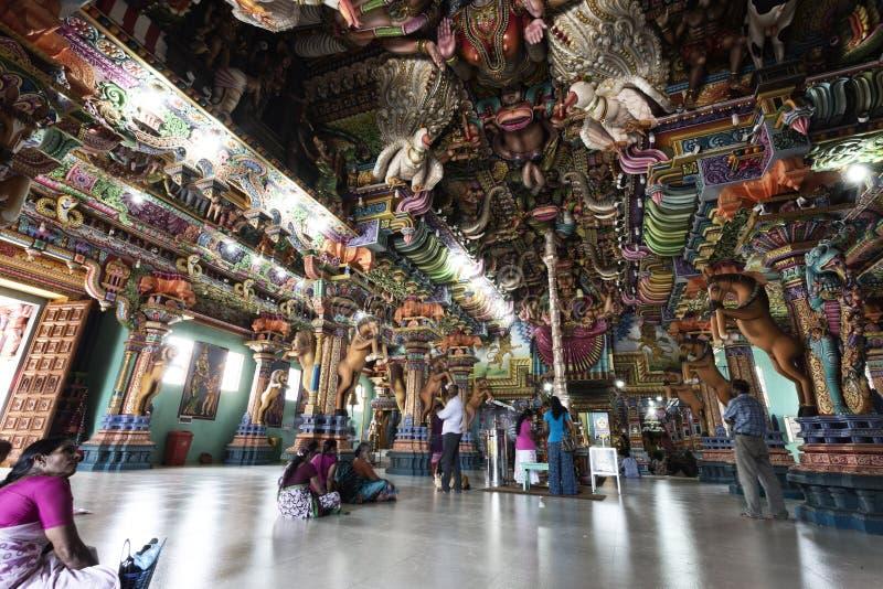 Templo hindú del kali en Trincomalee fotografía de archivo libre de regalías