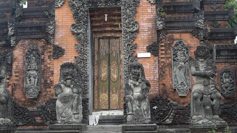 Templo hindú en Bali foto de archivo