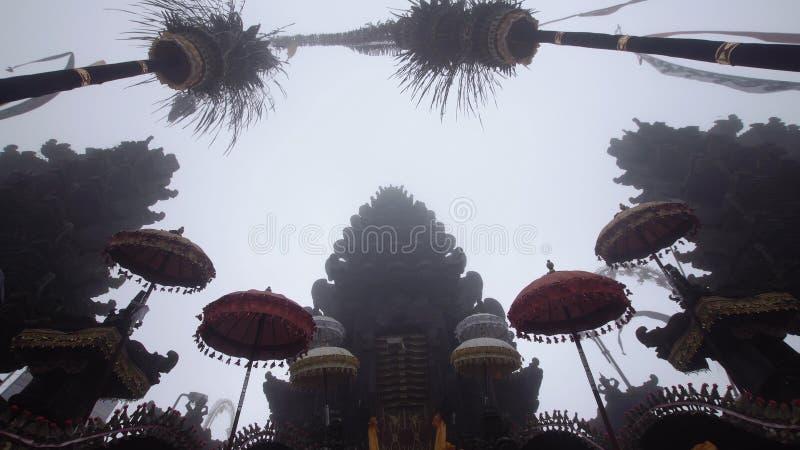 Templo hindú en Bali fotografía de archivo