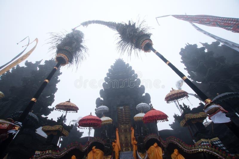 Templo hindú en Bali fotos de archivo