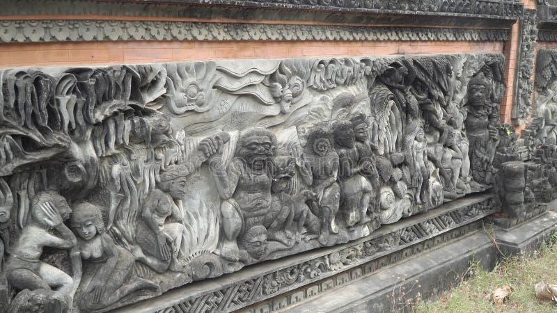Templo hindú en Bali imágenes de archivo libres de regalías
