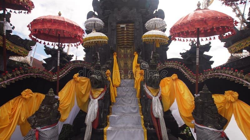 Templo hindú en Bali foto de archivo libre de regalías