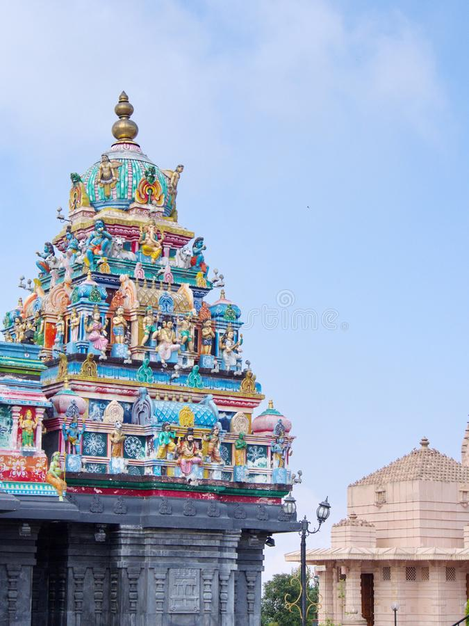Templo hindú en la ciudad de Namchi, estado de Sikkim en la India, el 15 de abril, fotos de archivo libres de regalías
