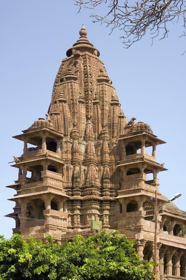 Templo hindú - Mandore - Rajasthán - la India imagen de archivo