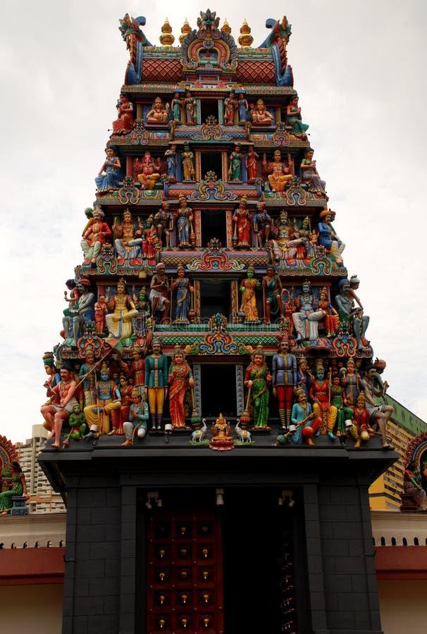 Templo hindú (Singapur) imágenes de archivo libres de regalías