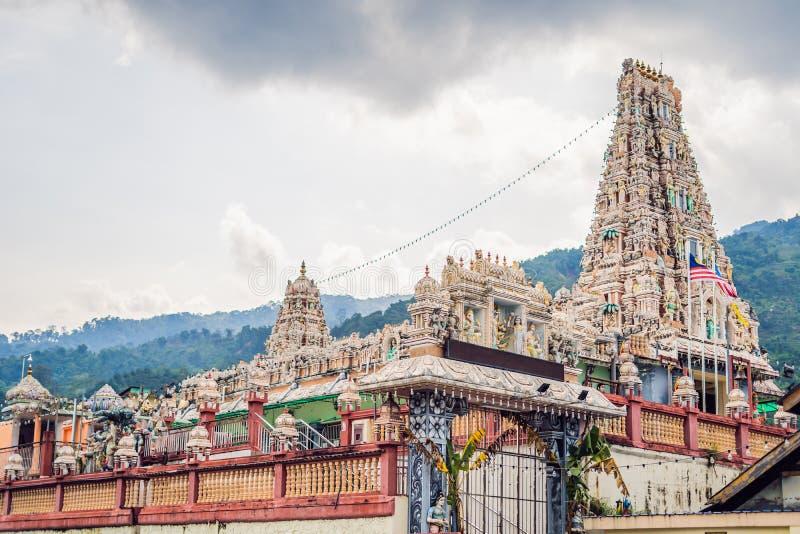 Templo hindú Sri Mariamman Peng Island, Malasia imagen de archivo libre de regalías