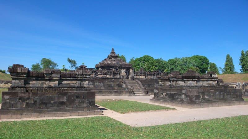 Templo hindú subterráneo del sambisari del candi imágenes de archivo libres de regalías