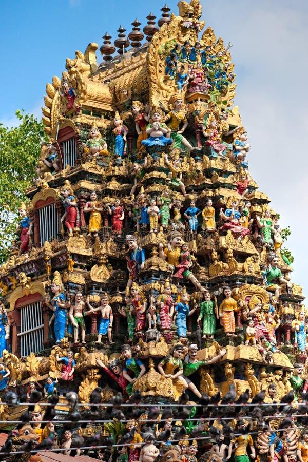 Templo hindú, Yangoon, Myanmar. imágenes de archivo libres de regalías
