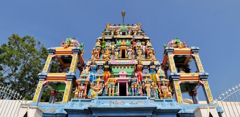 Templo hindu da ilha de Tamilian, Sri Lanka imagens de stock royalty free