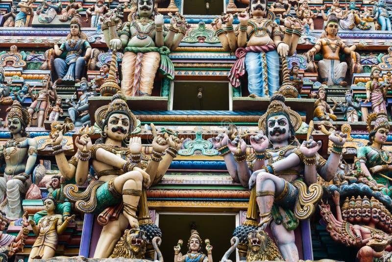 Templo hindu de Sri Kailasanathar, Colombo fotos de stock royalty free