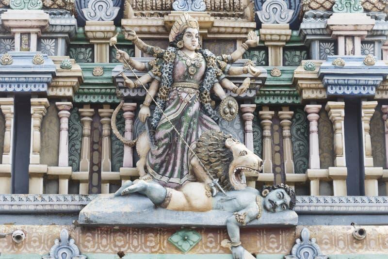 Templo hindu do durga em Trincomalee imagens de stock royalty free