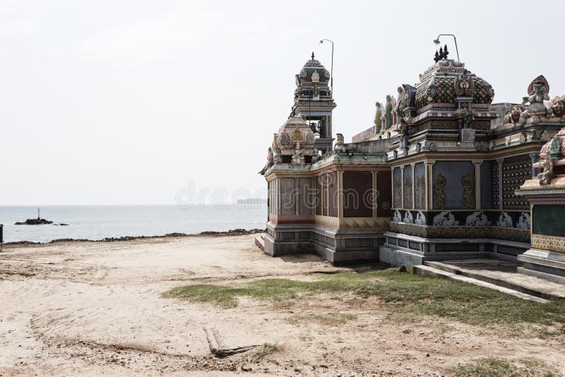 Templo hindu do durga em Trincomalee foto de stock royalty free