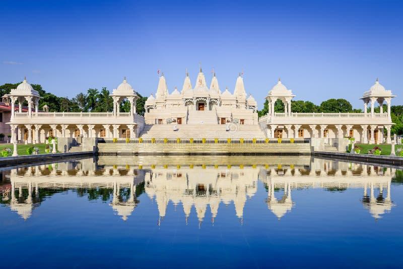Templo hindu em Atlanta fotos de stock royalty free