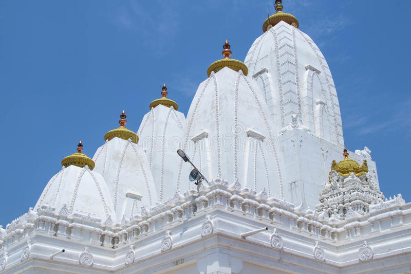 Templo hindu em bangalore fotografia de stock royalty free
