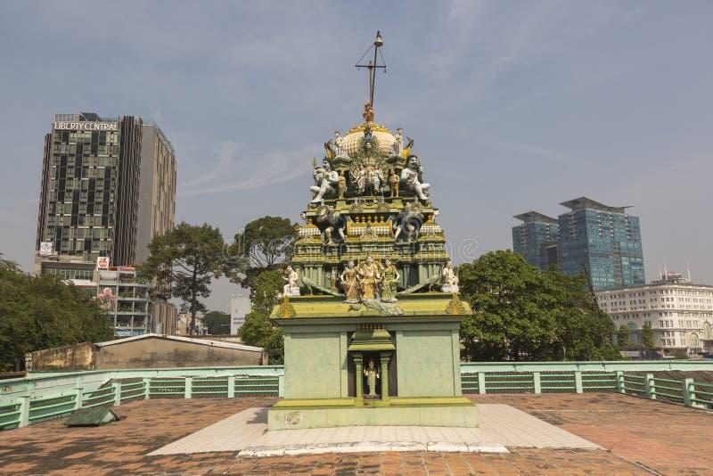 Templo hindu em Ho Chi Minh fotos de stock