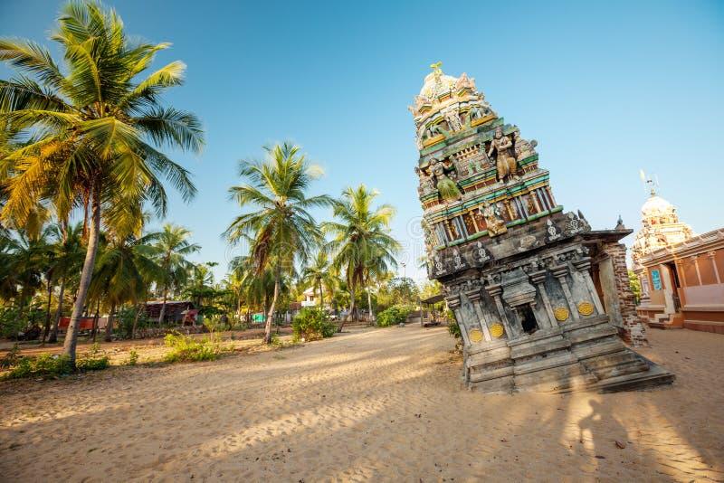 Templo hindu em Sri Lanka após o tsunami fotos de stock royalty free