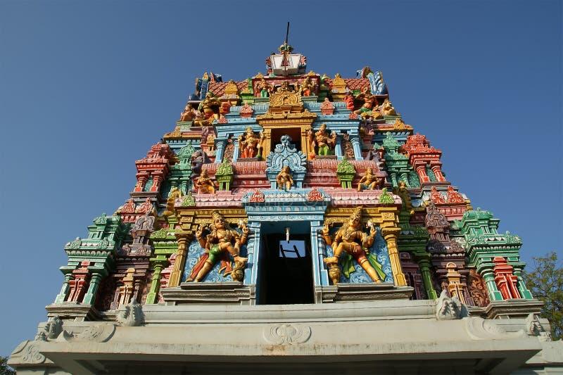 Templo Hindu tradicional, India sul, Kerala fotografia de stock