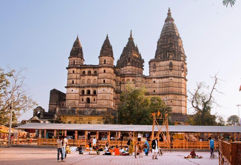 Templo histórico dedicado a Lord Vishnu fotos de stock